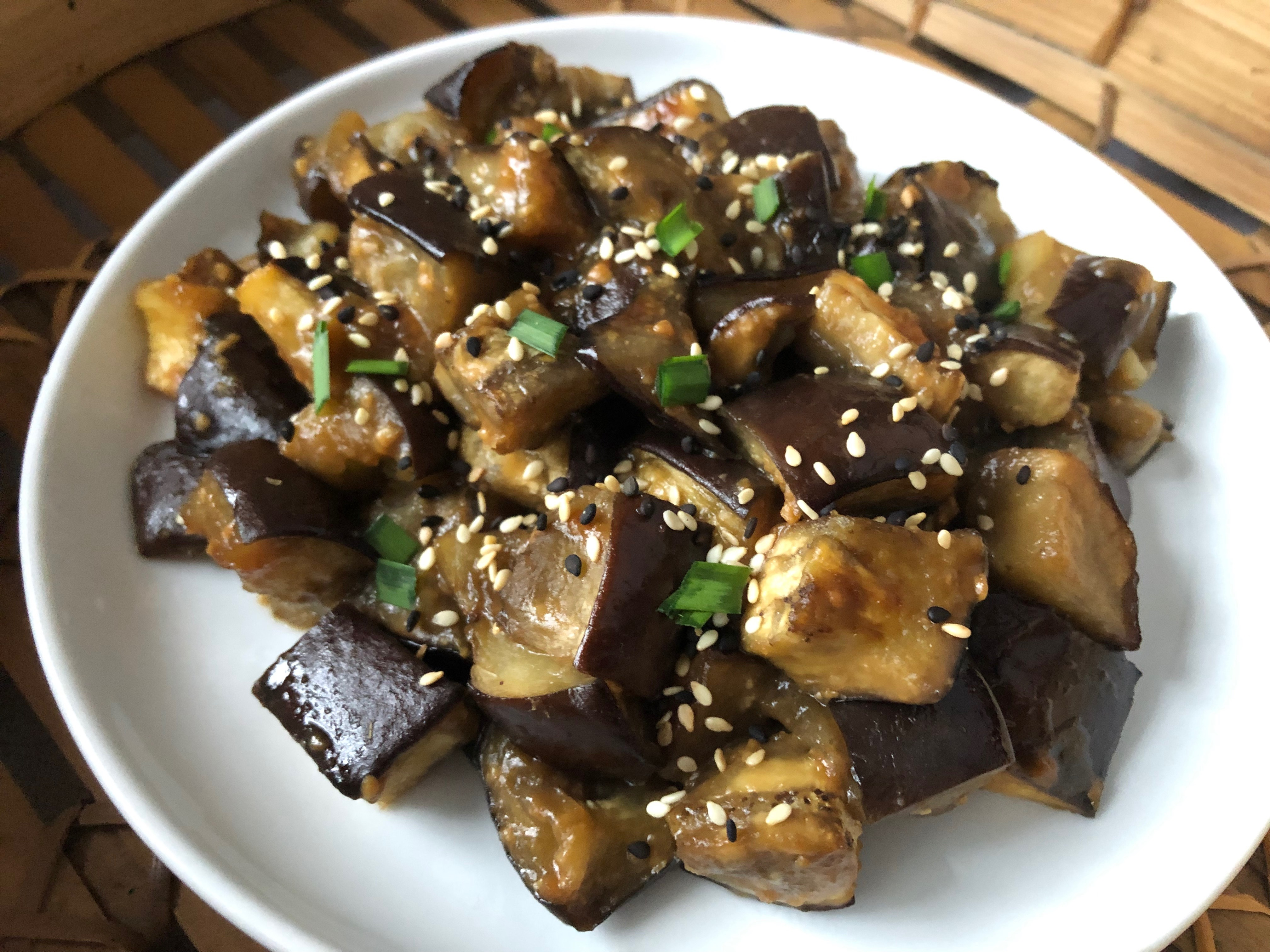 miso roasted eggplant